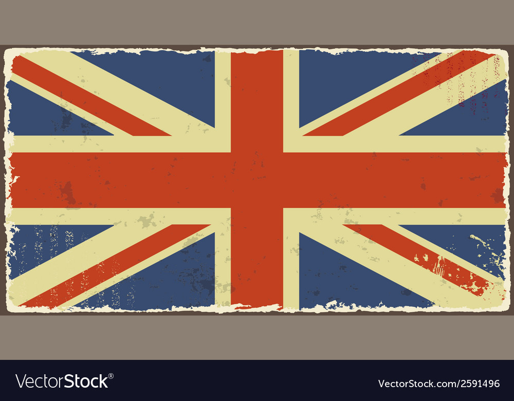 British grunge flags vector | Price: 1 Credit (USD $1)