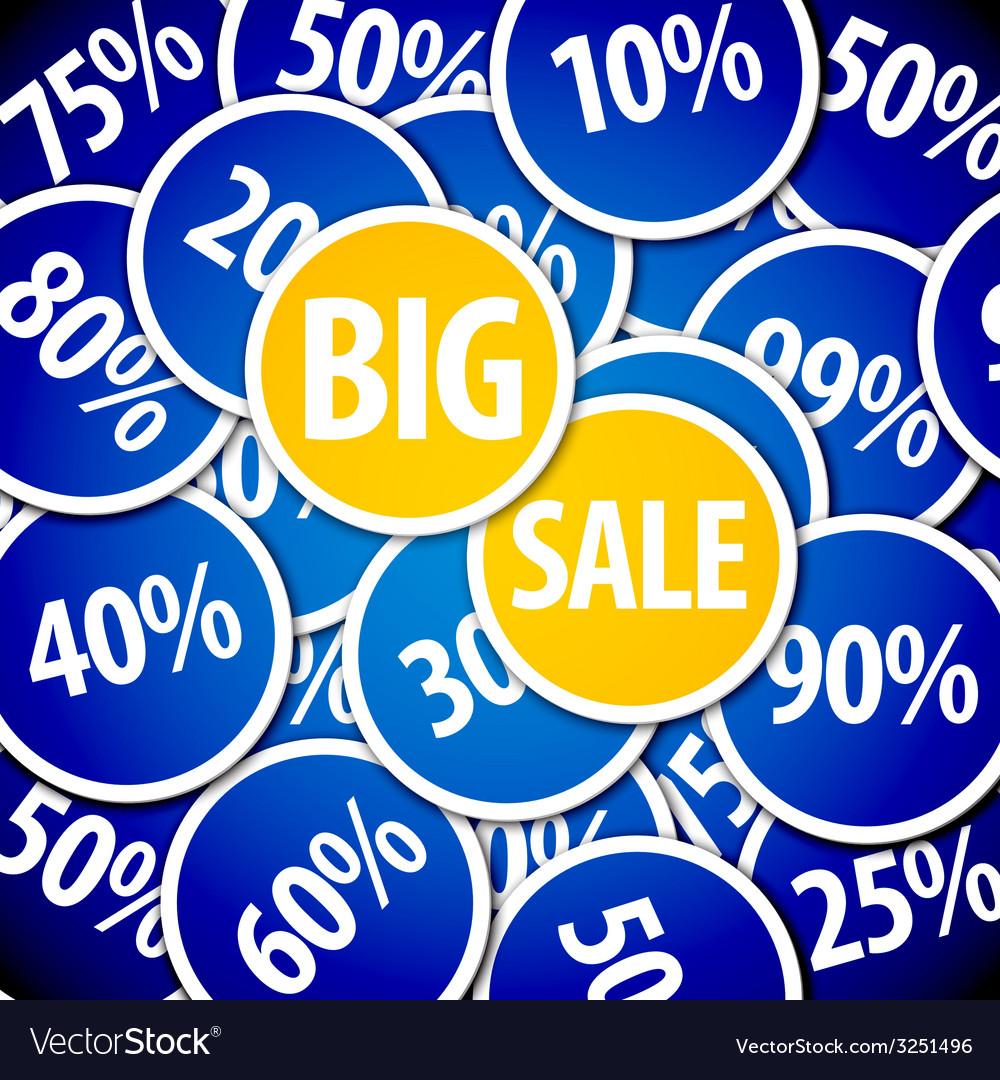 Discount sale background vector | Price: 1 Credit (USD $1)