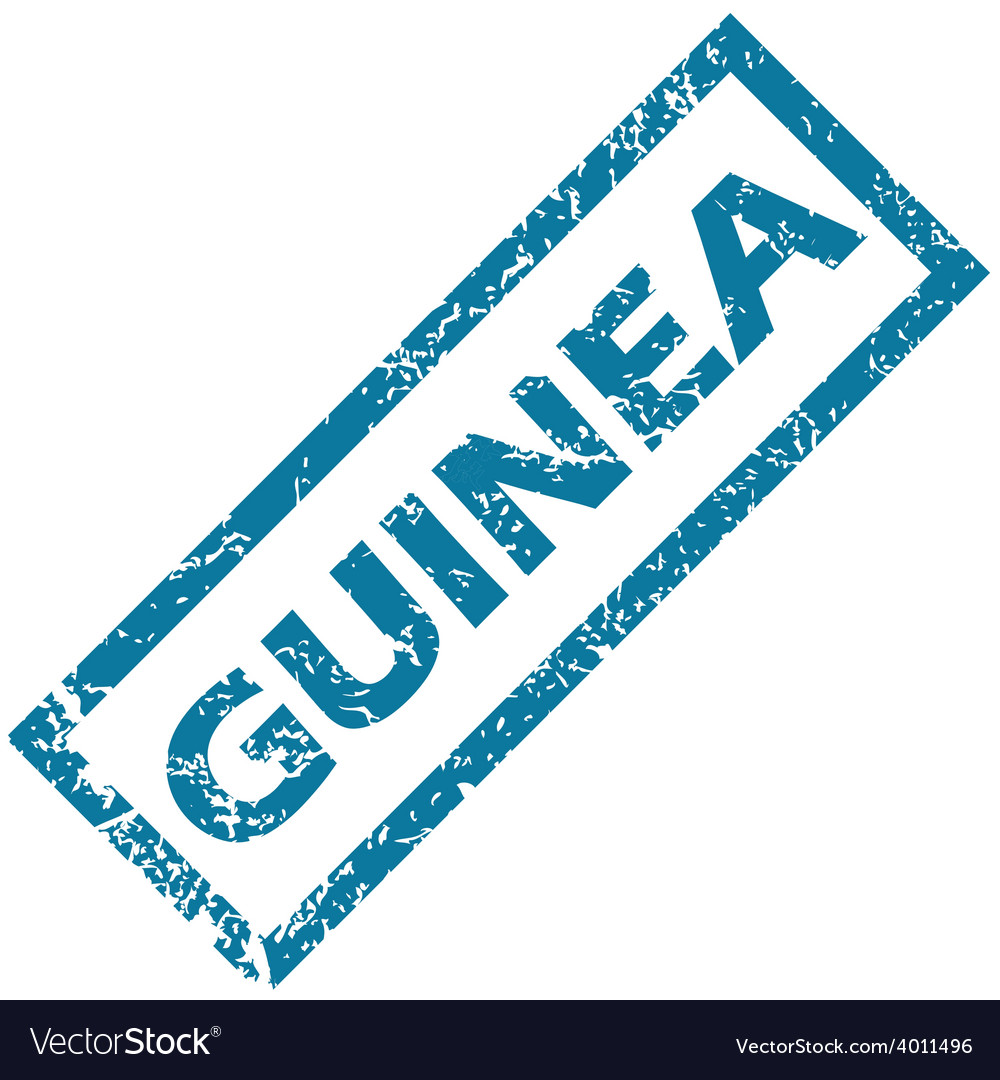 Guinea rubber stamp vector   Price: 1 Credit (USD $1)