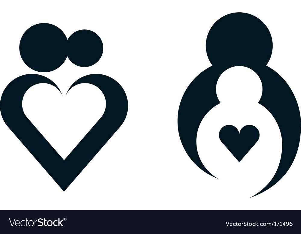 Heart sign vector | Price: 1 Credit (USD $1)