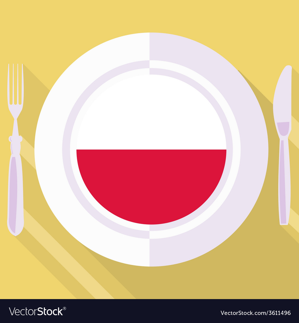 Kitchen of poland vector | Price: 1 Credit (USD $1)