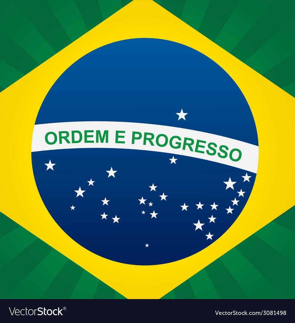 Brazil design vector | Price: 1 Credit (USD $1)
