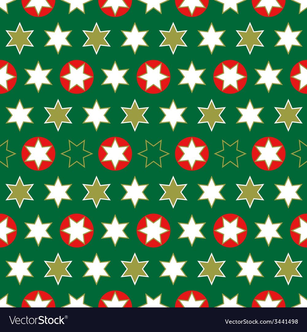 Christmas seamless wrapping paper-repeating vector | Price: 1 Credit (USD $1)