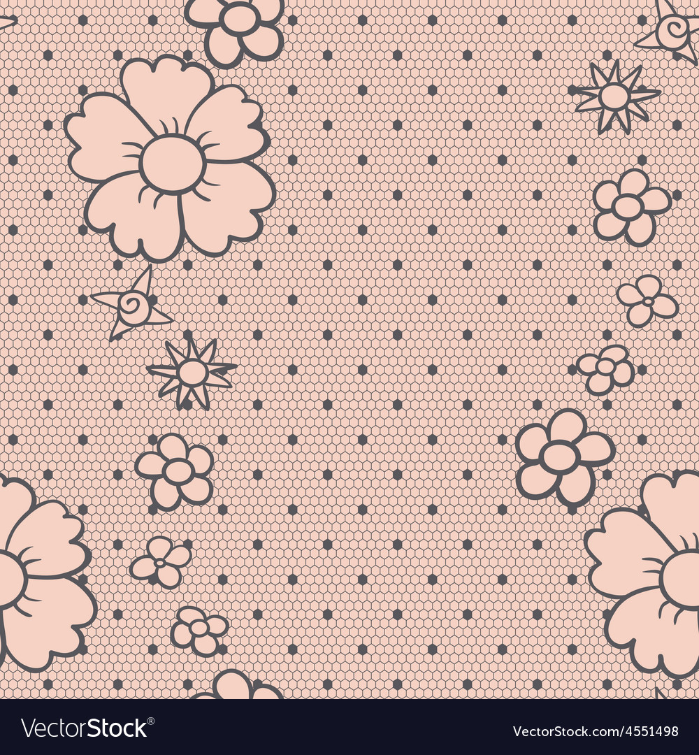 Gentle dotted lace vector | Price: 1 Credit (USD $1)