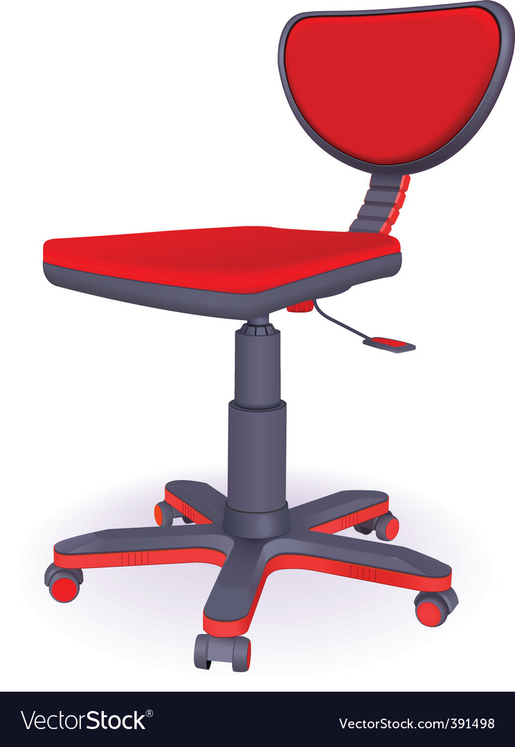 Office chair vector | Price: 3 Credit (USD $3)