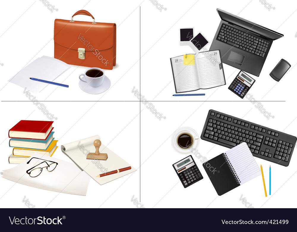 Big set of office backgrounds vector   Price: 3 Credit (USD $3)