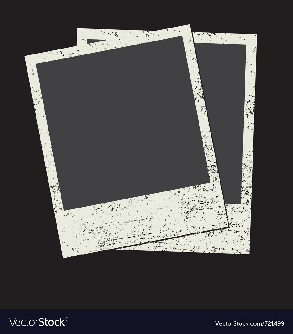 Vintage photo frame vector | Price: 1 Credit (USD $1)