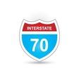Interstate 70 vector