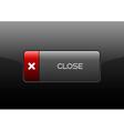 Close button vector