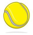 Teniska loptica vector