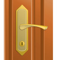 Door handle vector