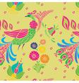 Garden floral seamless vector