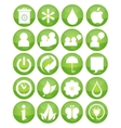 Nature eco symbols vector