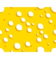 Cheese seamless background vector