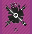 Rock poster vector