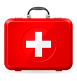 First aid kit vector