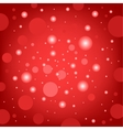 Circular effects red background vector