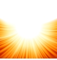 Sunburst rays background vector
