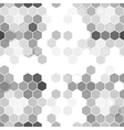 Hexagonal seamless pattern repeating geometric vector