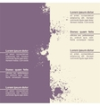 Abstract grunge background template design vector
