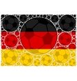 Germany soccer balls vector