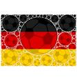 Germany soccer balls vector
