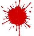 Red blot vector