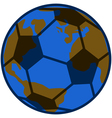 Planet soccer vector