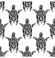 Turtles seamless pattern vector