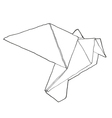 Origamibird vector