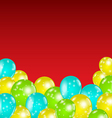 Set colorful balloons for your holiday vector