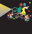 Couple cycling vector