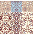 Six seamless patterns vector