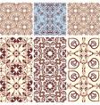 Six seamless patterns vector