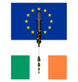 European cash infusion for ireland vector