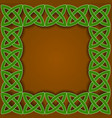 Celtic border vector