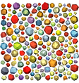 Polygonal stones in different color vector