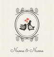 Wedding cards2 vector