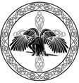 Celtic angel vector