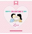 Romantic card74 vector