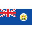 Pre-1997 hong kong flag vector