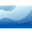 Abstract blue wave - 3d effect vector