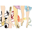 Music and dance vector