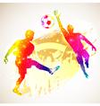 Soccer concept vector
