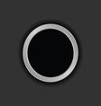 Button black vector