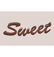 Sweet background vector