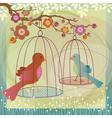 Bird cage vector