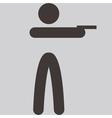 Shooting icon vector