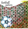 Football abstract pattern vector
