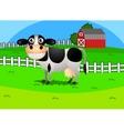 Cartoon cow vector